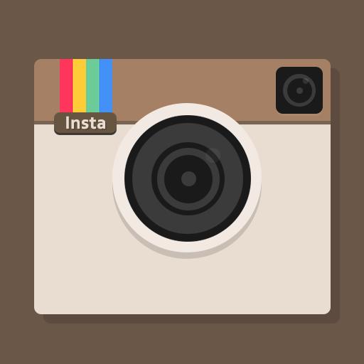 ancienne icône instagram