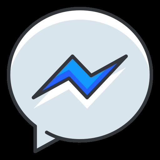 Facebook messenger icône