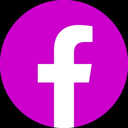 Icône Facebook rose