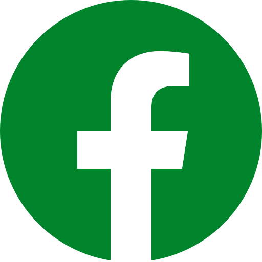 Icône Facebook vert