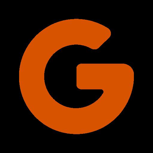 Google icône symbole PNG logo orange