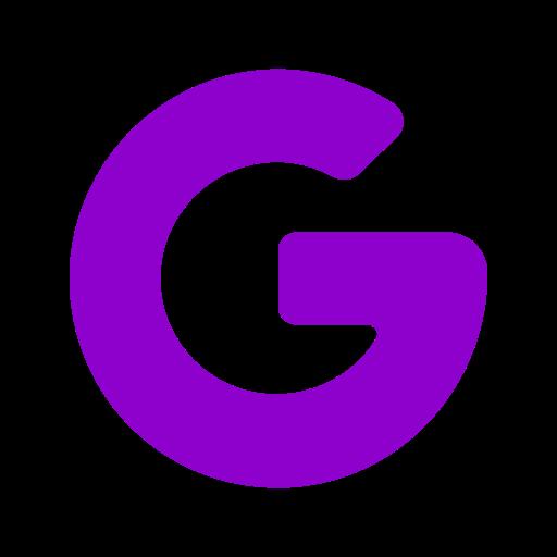 Google icône symbole png logo violet