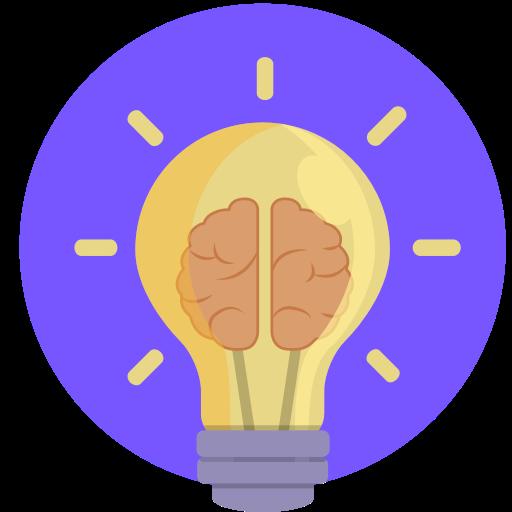 Icône d'ampoule idée
