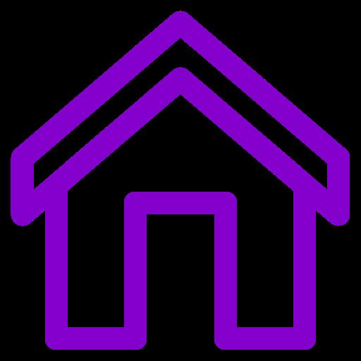 Icône de la maison pourpre