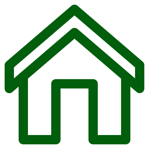 Icône de la maison verte