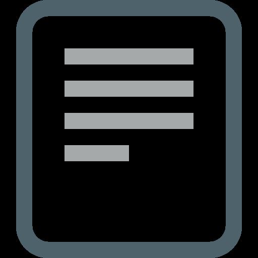 Icône de texte symbole PNG
