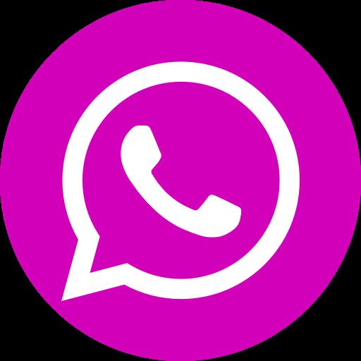 Icône du logo rose WhatsApp