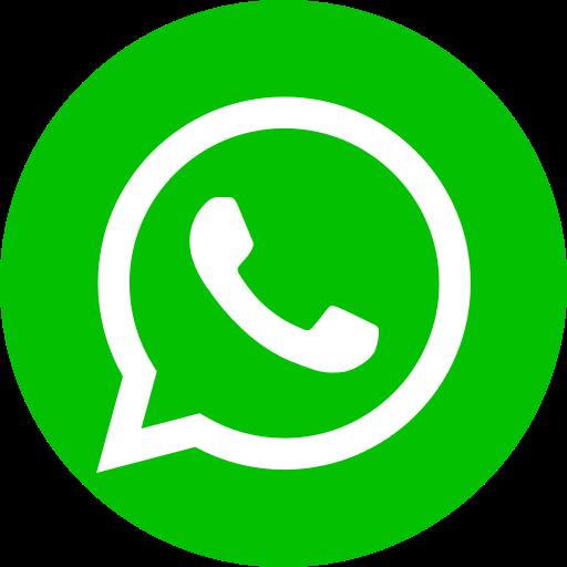 Icône du logo vert WhatsApp