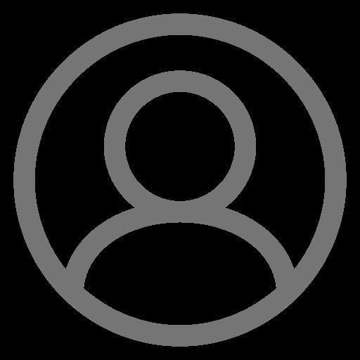 Icône d'utilisateur gris