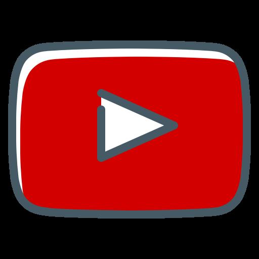 Icône de lecteur Youtube