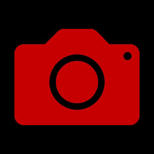 Icono de cámara roja