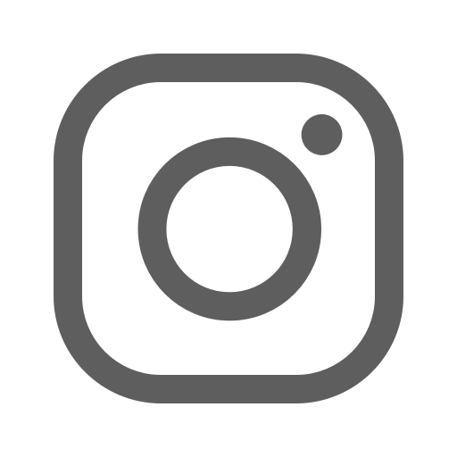 Icône Instagram gris