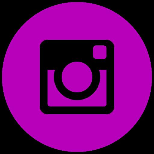 Icône Instagram rose