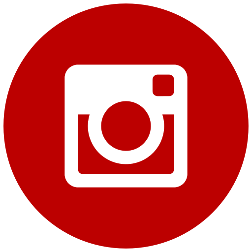 Icône Instagram rouge