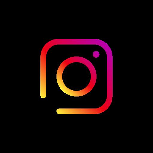 Icône Instagram original coloré