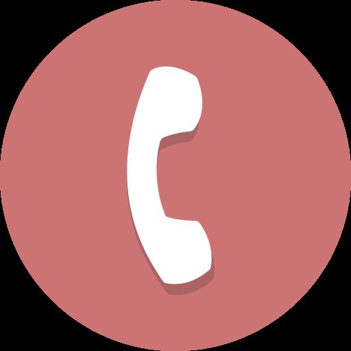 phone icon rouge