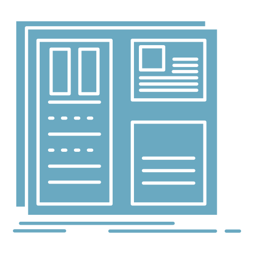 Web design site icône