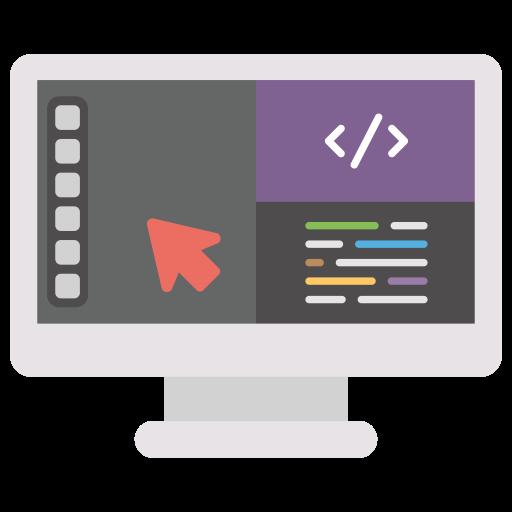 web design icône