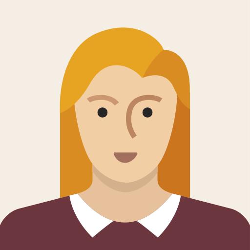 Avatar de femme icône personne