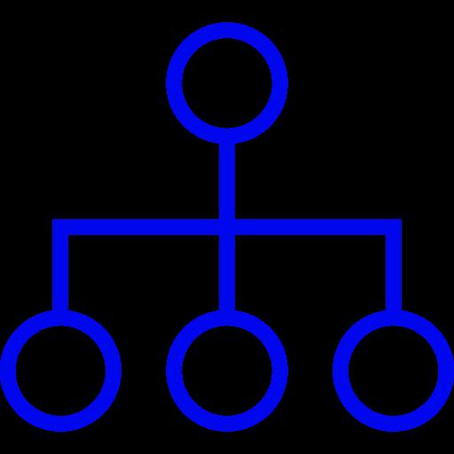 Symbole de groupe bleu (symbole PNG)