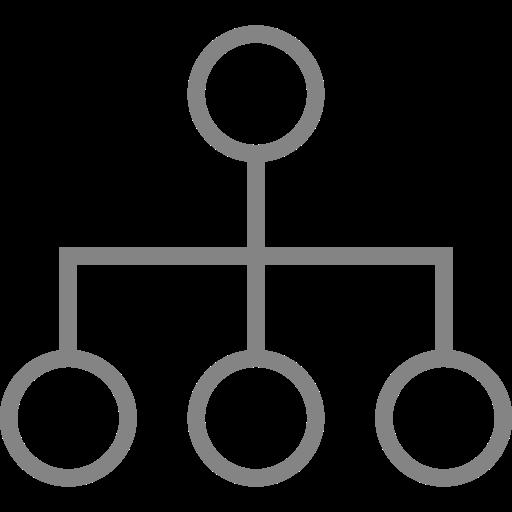 Symbole de groupe gris (symbole PNG)