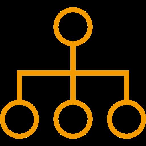 Symbole de groupe jaune (symbole PNG)