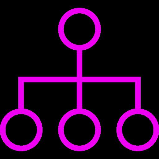 Symbole de groupe rose (symbole PNG)