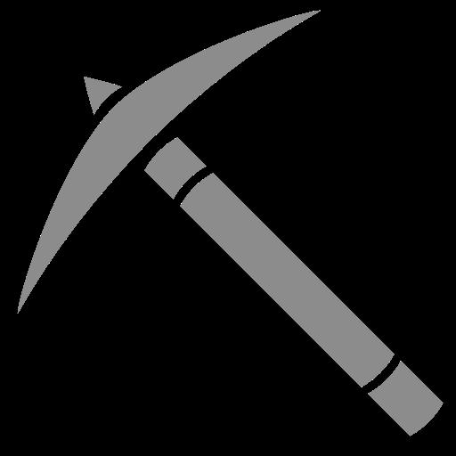 Icône de Minecraft (symbole png) choix gris