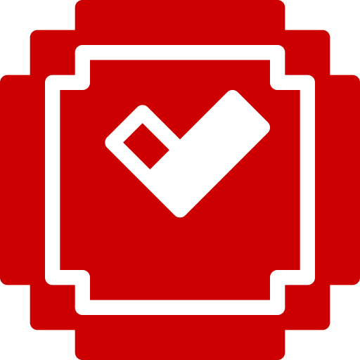 Icône Minecraft (symbole Png) rouge