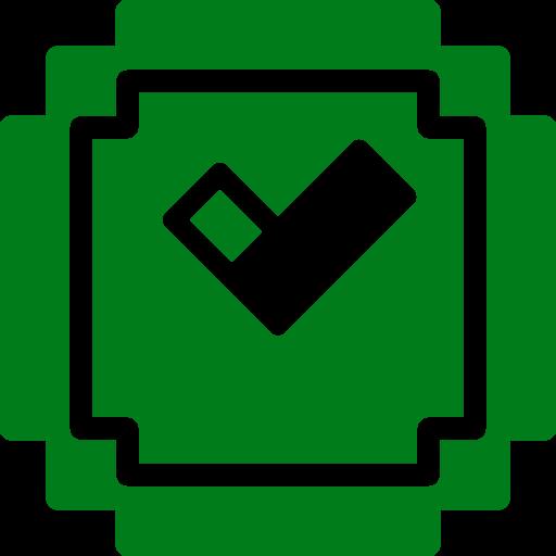 Icône Minecraft (symbole Png) vert