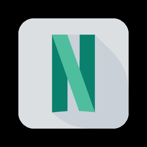 Icône Netflix (symbole du logo png)