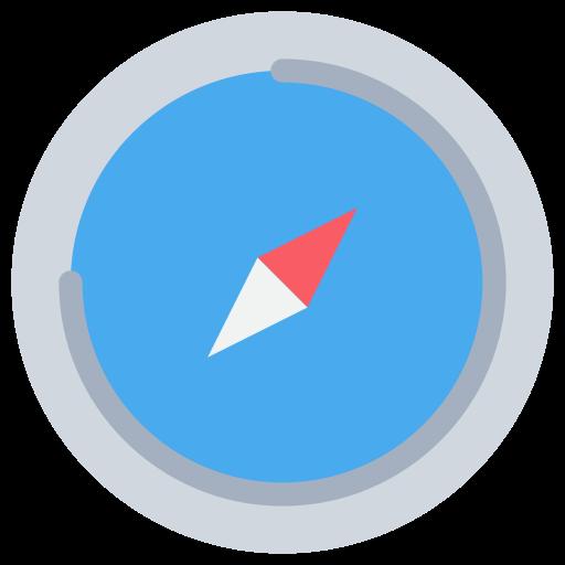 Icône Safari (symbole du logo png) original