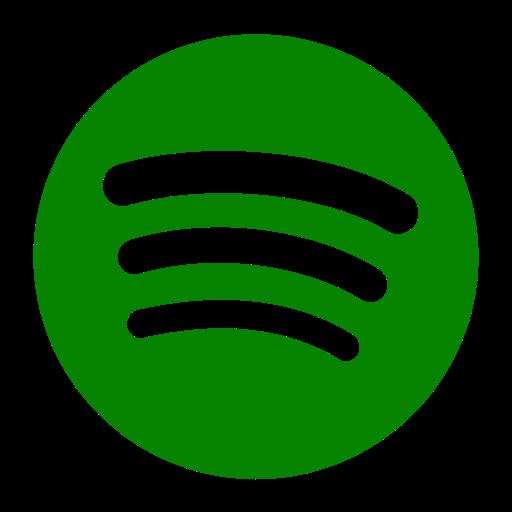 Icône Spotify verte (symbole png)