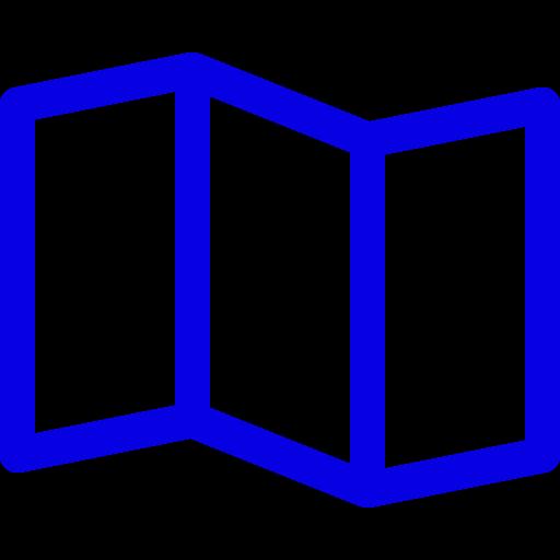 Icônes de la carte bleue (symbole png)