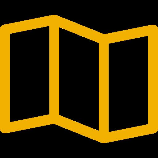 Icônes de carte jaune (symbole png)