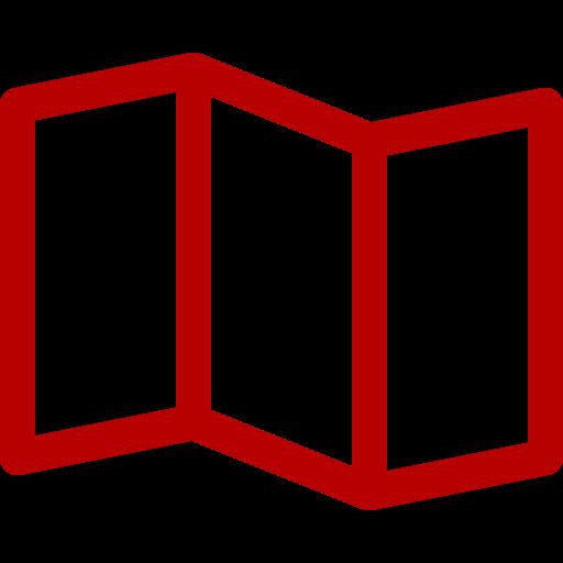 Icônes de la carte rouge (symbole png)