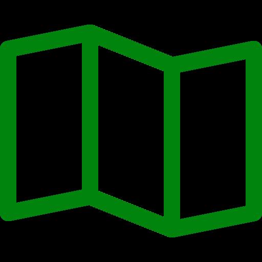 Icônes de la carte verte (symbole png)