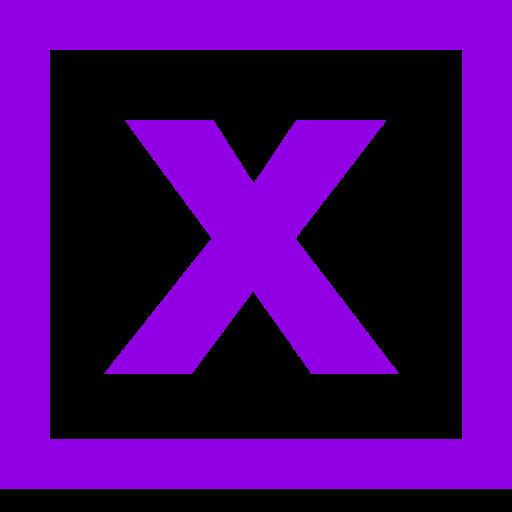 Logo Excel (icône png) violet