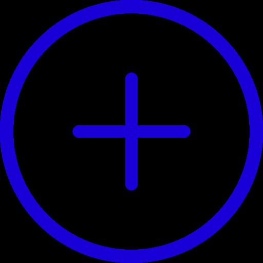 Nouveau symbole (icône png) bleu