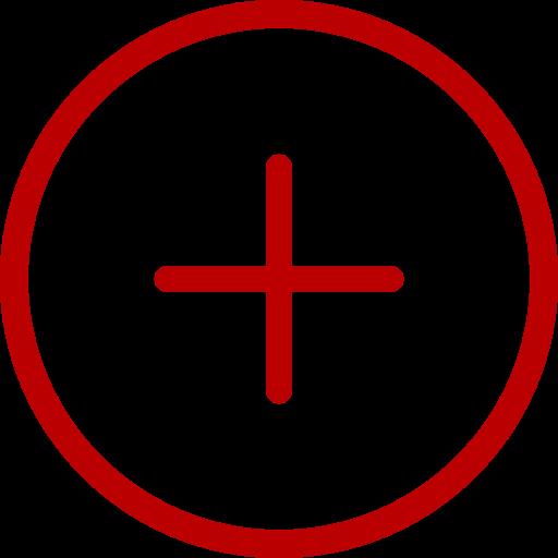 Nouveau symbole (icône png) rouge
