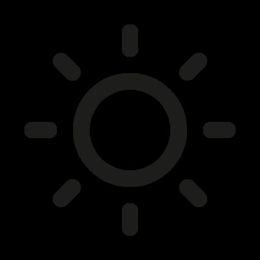 Symbole du soleil noir (icône png)
