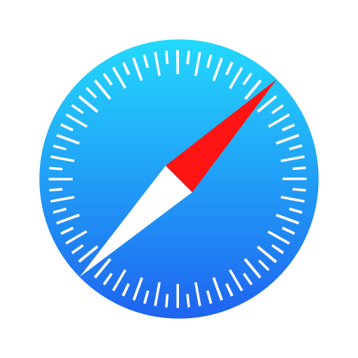 Symbole Safari (icône du logo png)