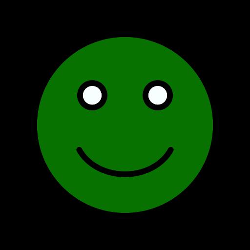 Smiley vert (icône png)