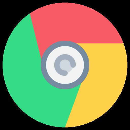 Icône Chrome (symbole png) original