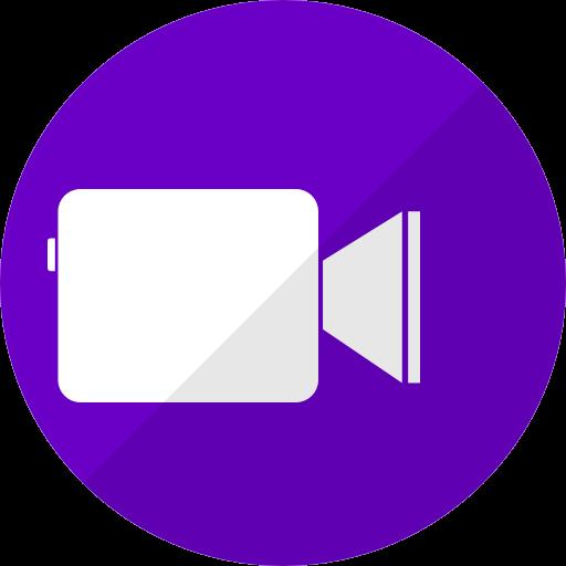 Icône Facetime violette (logo png)