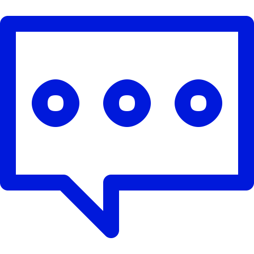 Symbole de chat bleu (icône png)