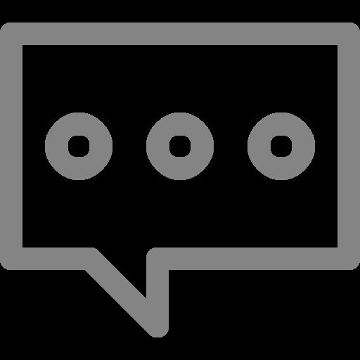 Symbole de chat gris (icône png)