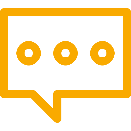 Symbole de chat jaune (icône png)