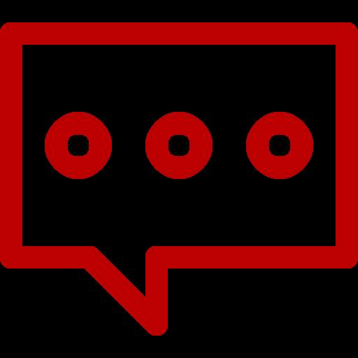 Symbole de chat rouge (icône png)