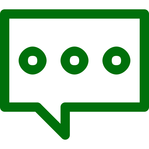 Symbole de chat (icône png) vert